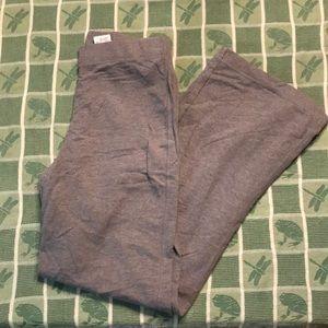 Eddie Bauer size M grey wide leg sweats